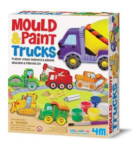 قالب گیری و رنگ آمیزی کامیون